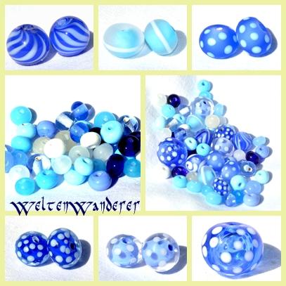 Perlen drehen, Morretti, Lauscha, blau, Zweigasbrenner, Bobcat